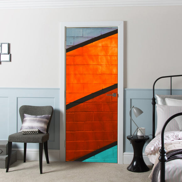 Design Ideas for Door Cover 4 Colours Wall Vinyl printed Wallpaper