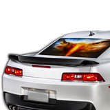 Eagle Eyes Perforated for Chevrolet Camaro decal 2015 - Present