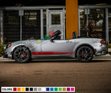 Decal Side Stripes For FIAT 124 SPIDER 2017 - Present