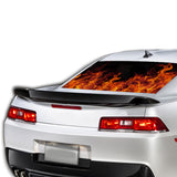 Flames Perforated for Chevrolet Camaro Vinyl 2015 - Present