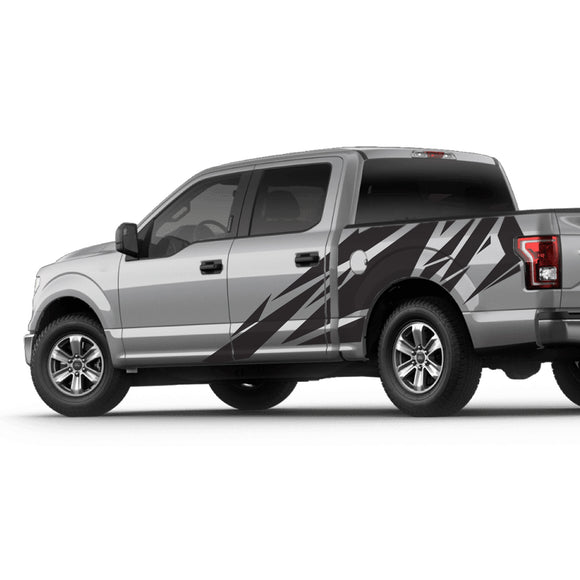 Set of Side and Bed Decal Sticker Ford F150