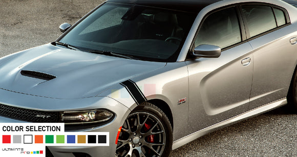 Decal For Dodge Charger 2011 - Present Front panel Hash Sticker