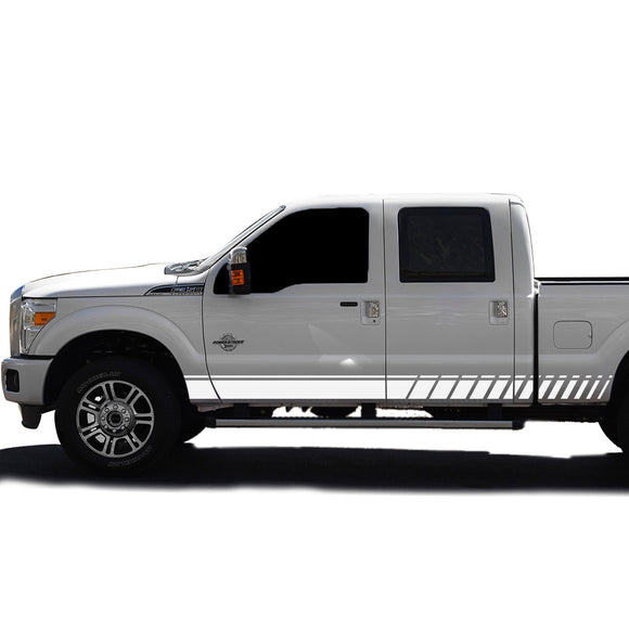Decal Graphic Vinyl Kit Compatible with Ford F350 2013-Present