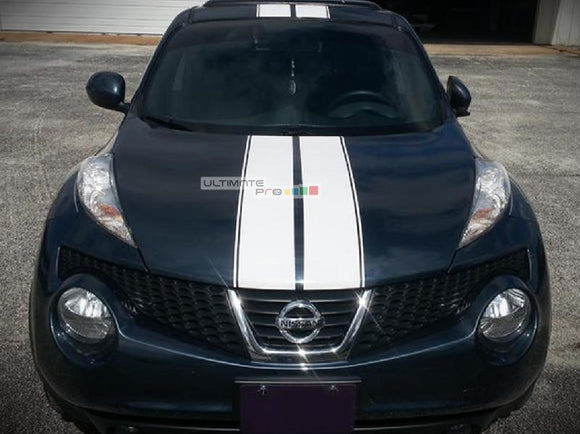 Front to Back Stripe Kit Decal Sticker Graphic Nissan Juke Infiniti ESQ