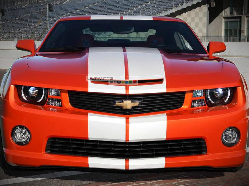 Decal Sticker Graphic Front to Back Stripe Kit Chevrolet Camaro SS Coupe Convertible