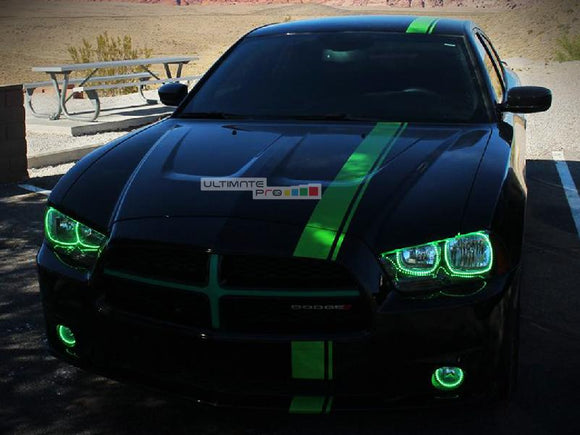 Full Stripe Kit Sticker Decal Graphic Dodge Charger SRT 8 2011-2016