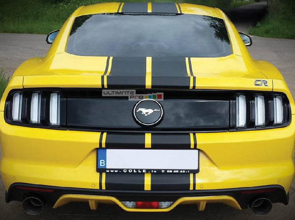 Full Stripe Kit Sticker Decal Graphic Ford Mustang GT 2015 2016 6th Gen