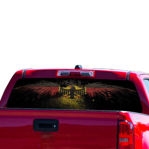 Germany Eagle Perforated for Chevrolet Colorado decal 2015 - Present