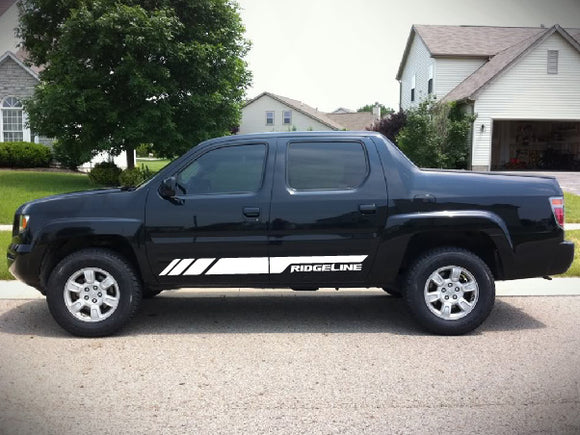 Decal Sticker Vinyl Lower Stripe Kit Honda Ridgeline 2006 2017 Models
