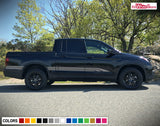 Decal Sticker Stripe Kit Compatible with Honda Ridgeline 2016-Present