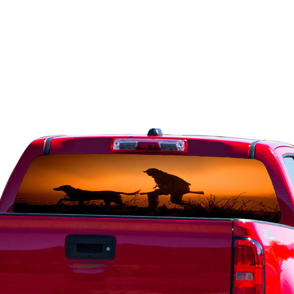Dog Hunting Perforated for Chevrolet Colorado decal 2015 - Present