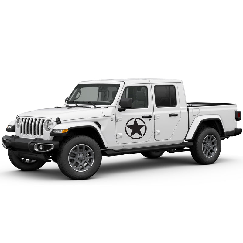 Decal stars Compatible with Jeep Gladiator 2019-Present