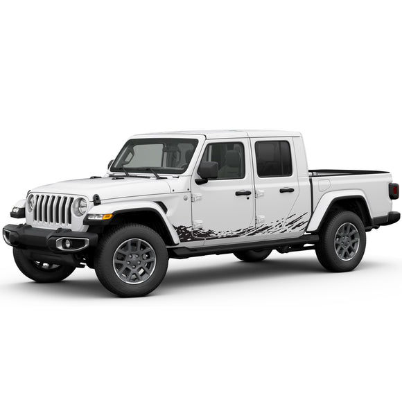 Decal front sticker Compatible with Jeep Gladiator 2019-Present