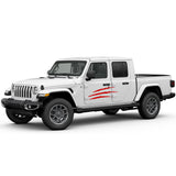 Decal scratch Compatible with Jeep Gladiator 2019-Present