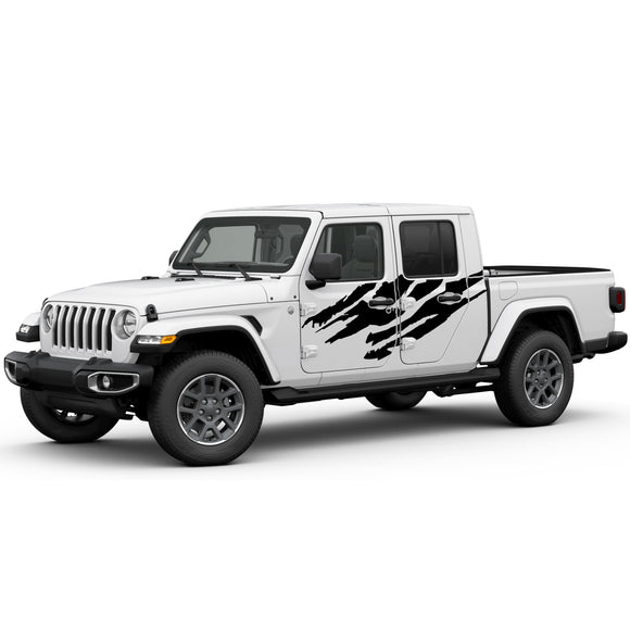 Decal sticker splash Compatible with Jeep Gladiator 2019-Present