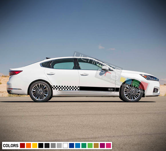 Side Door Stripe Decal for Kia Cadenza 2015 - Present