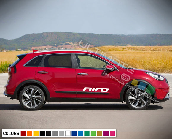 Decal Side Sport Stripe Kit for Kia Niro 2016 - Present