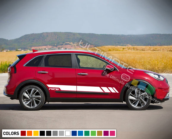 Sport Stripe Decal set for Kia Niro 2016 - Present