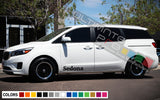 Decal Sport Side Stripe Kit for Kia Sedona 2015 - Present