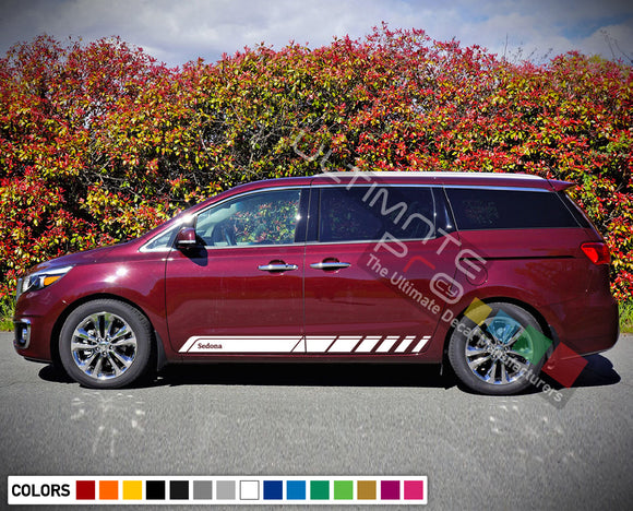 Side Door Stripe Decal for Kia Sedona 2015 - Present
