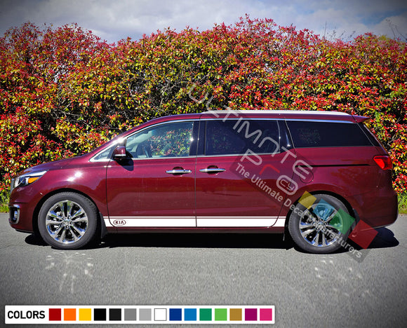 Sport Stripe Decal set for Kia Sedona 2015 - Present