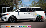 Side Doors Sport Stripe Decal Kit for Kia Sedona 2015 - Present