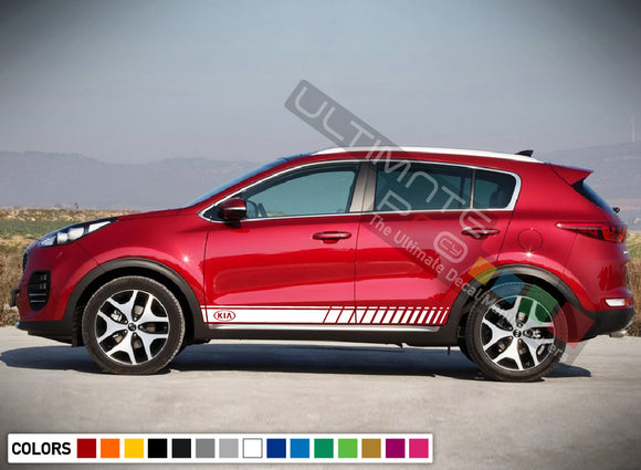 Side Door Stripe Decal for Kia Sportage 2016 - Present