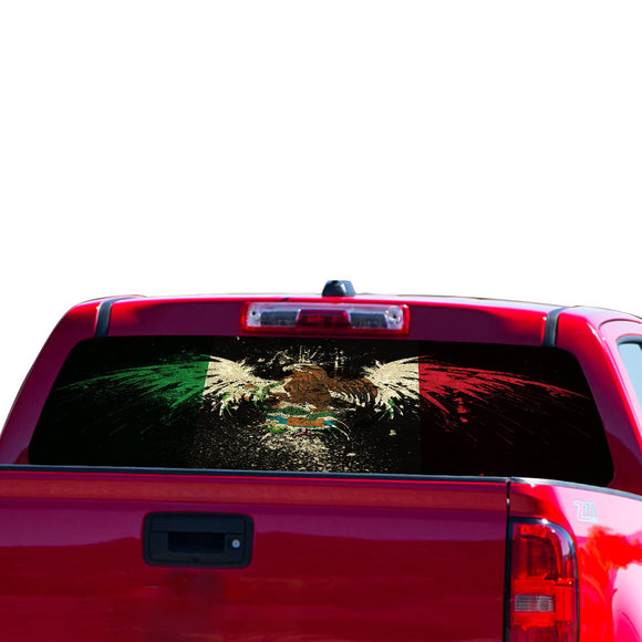 Mexico Eagle Perforated for Chevrolet Colorado decal 2015 - Present