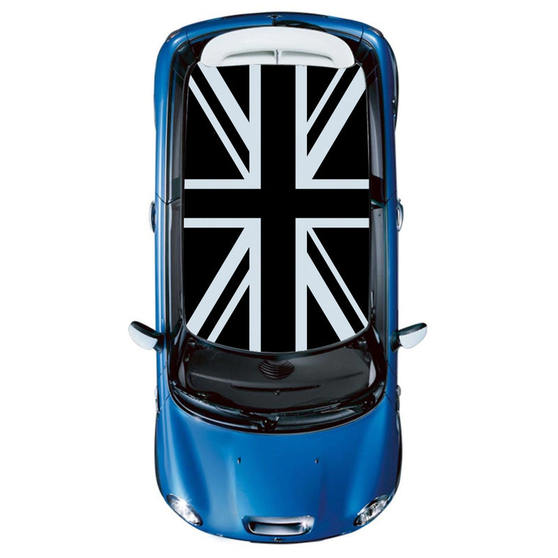 UK Flag Roof Decal Sticker Graphic Compatible with Mini Cooper 2000-Present