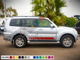 Decal Vinyl Side Racing Stripes For Mitsubishi Montero 2005-Present