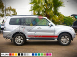 Decal Vinyl Racing Stripes For Mitsubishi Montero 2005-Present