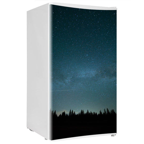 Mini Fridge Decals vinyl Sky Design Fridge Decals, Wrap