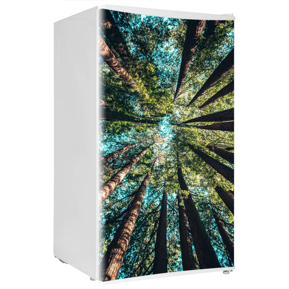 Mini Fridge Decals vinyl Trees Design Fridge Decals, Wrap