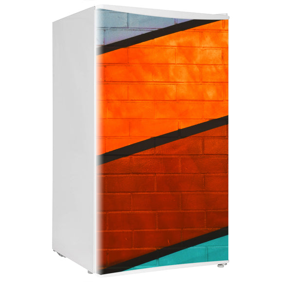 Mini Fridge Decals vinyl Wall 8 Design Fridge Decals, Wrap