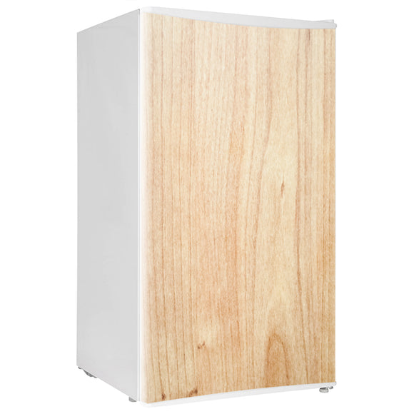 Mini Fridge Decals vinyl Wood 1 Design Fridge Decals, Wrap