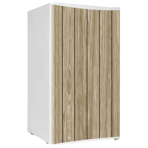 Mini Fridge Decals vinyl Wood 2 Design Fridge Decals, Wrap