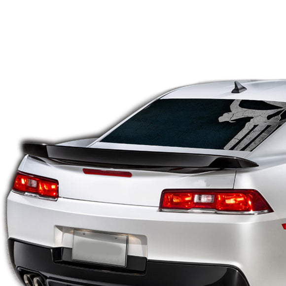 Punisher Perforated for Chevrolet Camaro Vinyl 2015 - Present