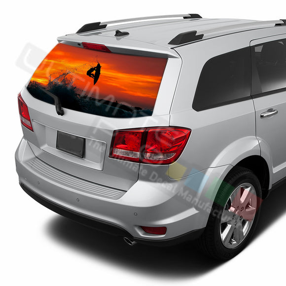Surf graphics Perforated Decals Dodge Journey 2009 - Present