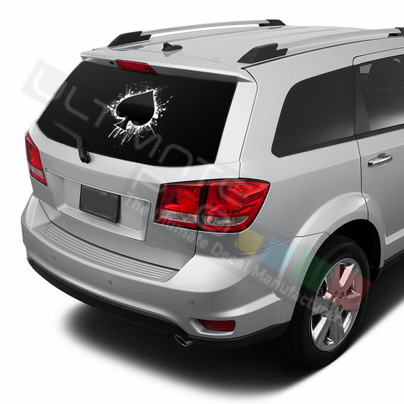 Ace graphics Perforated Decals Dodge Journey 2009 - Present