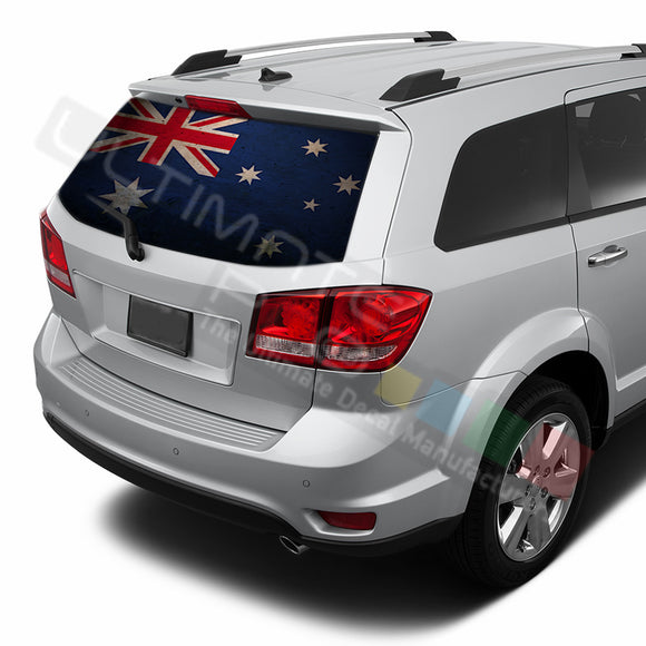 Australia graphics Perforated Decals Dodge Journey 2009 - Present