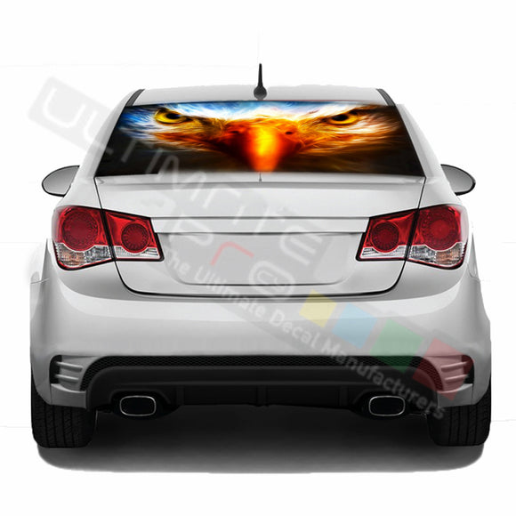 Eagle Perforated decal Chevrolet Cruz graphics vinyl 2009 - Present