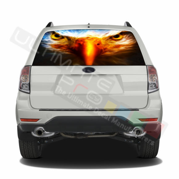 Eagle graphics Perforated Decals Subaru Forester 2012 - Present