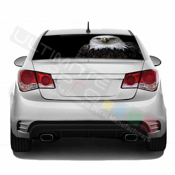 Eagle 1 Perforated decal Chevrolet Cruz graphics vinyl 2009 - Present