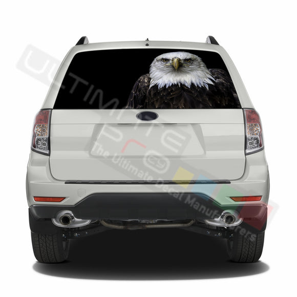 Eagle 1 graphics Perforated Decals Subaru Forester 2012 - Present