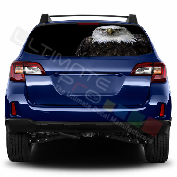 Eagle 1 Perforated Decals stickers compatible with Subaru Outback