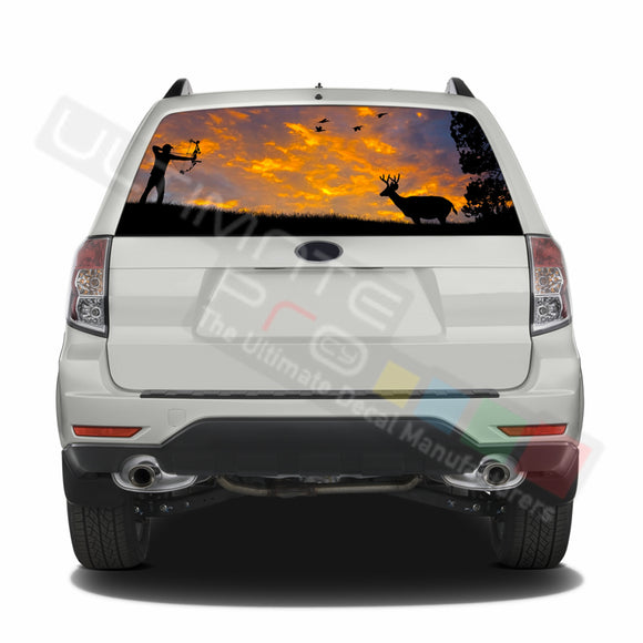 Hunting graphics Perforated Decals Subaru Forester 2012 - Present