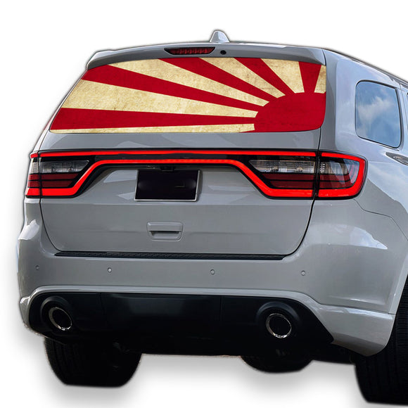 Japan Sun Perforated for Dodge Durango decal 2012 - Present