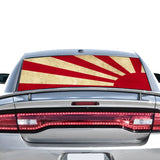 Japan Sun Perforated for Dodge Charger 2011 - Present