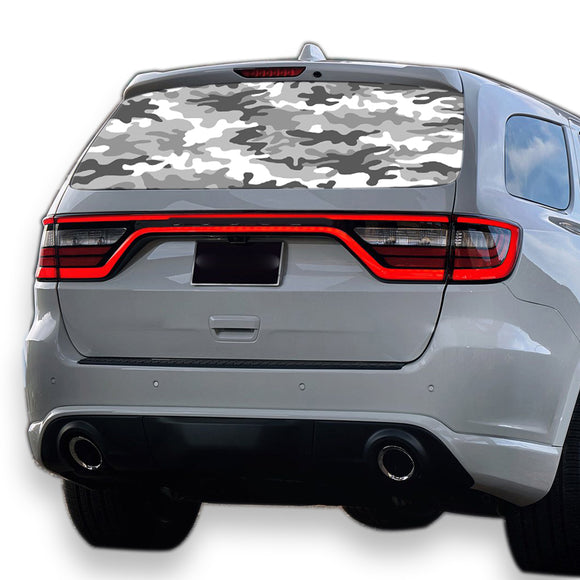 Army Perforated for Dodge Durango decal 2012 - Present