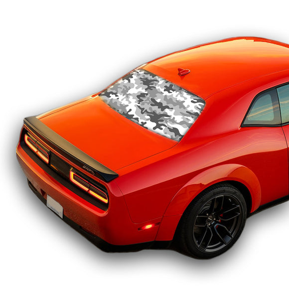 Army Perforated for Dodge Challenger decal 2008 - Present